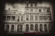 Red Car In Havana