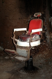 Barber Chair Eastern State Penitentiary
